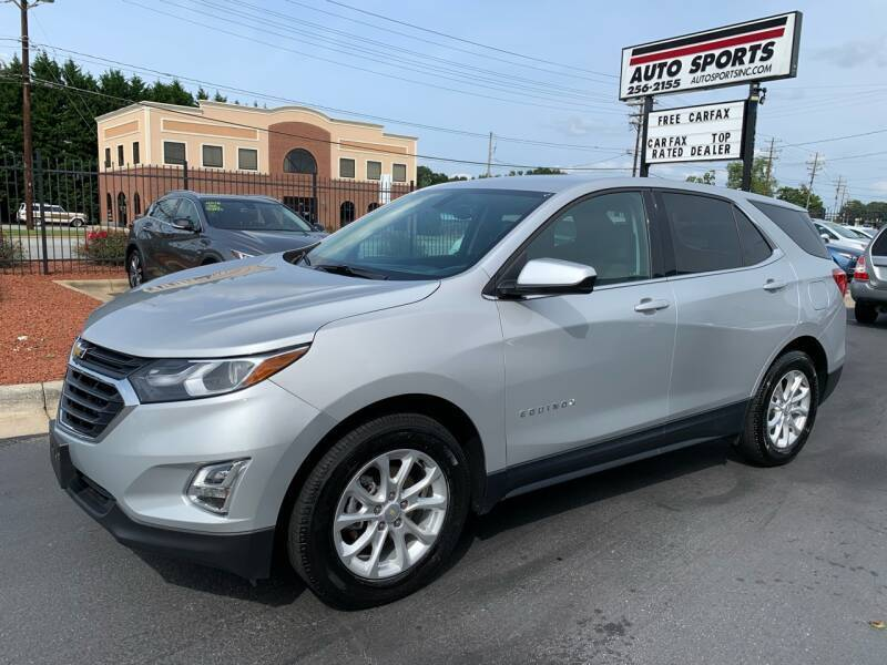 2018 Chevrolet Equinox for sale at Auto Sports in Hickory NC