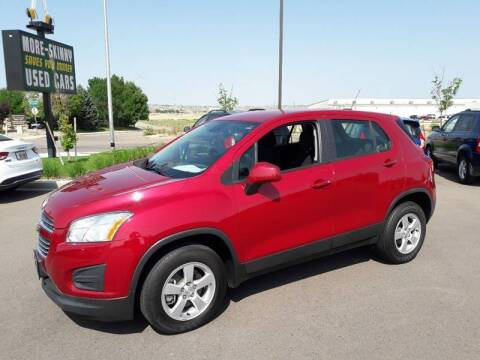 2015 Chevrolet Trax for sale at More-Skinny Used Cars in Pueblo CO
