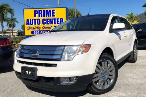 2009 Ford Edge for sale at PRIME AUTO CENTER in Palm Springs FL