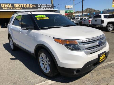 2014 Ford Explorer for sale at BEST DEAL MOTORS  INC. CARS AND TRUCKS FOR SALE in Sun Valley CA