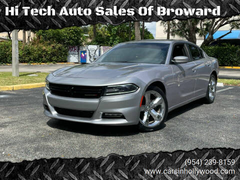 2016 Dodge Charger for sale at Hi Tech Auto Sales Of Broward in Hollywood FL