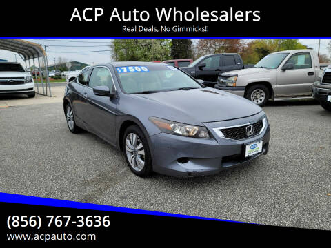 2008 Honda Accord for sale at ACP Auto Wholesalers in Berlin NJ