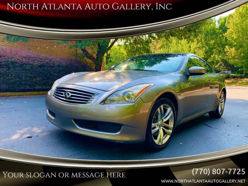 2009 Infiniti G37 Coupe for sale at North Atlanta Auto Gallery, Inc in Alpharetta GA