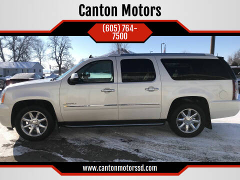 2011 GMC Yukon XL for sale at Canton Motors in Canton SD