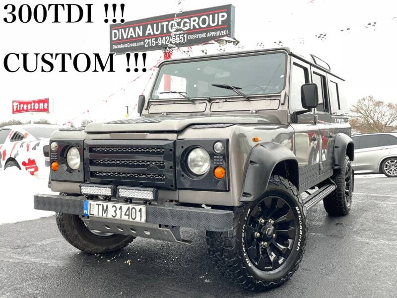 1994 Land Rover Defender for sale at Divan Auto Group in Feasterville PA