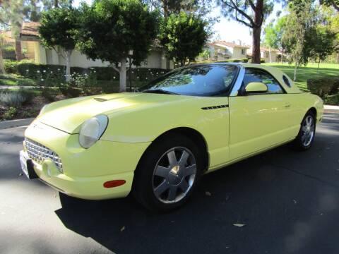 2002 Ford Thunderbird for sale at E MOTORCARS in Fullerton CA