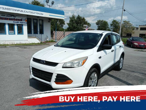 2013 Ford Escape for sale at E.L. Davis Enterprises LLC in Youngstown OH