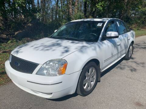 2005 Ford Five Hundred for sale at Trocci's Auto Sales in West Pittsburg PA