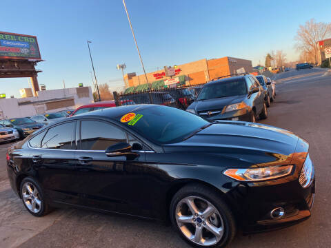 2016 Ford Fusion for sale at Sanaa Auto Sales LLC in Denver CO