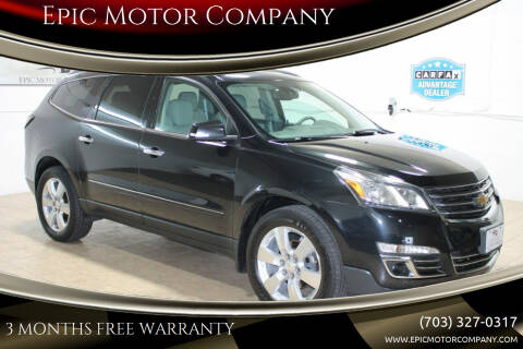 2014 Chevrolet Traverse for sale at Epic Motor Company in Chantilly VA