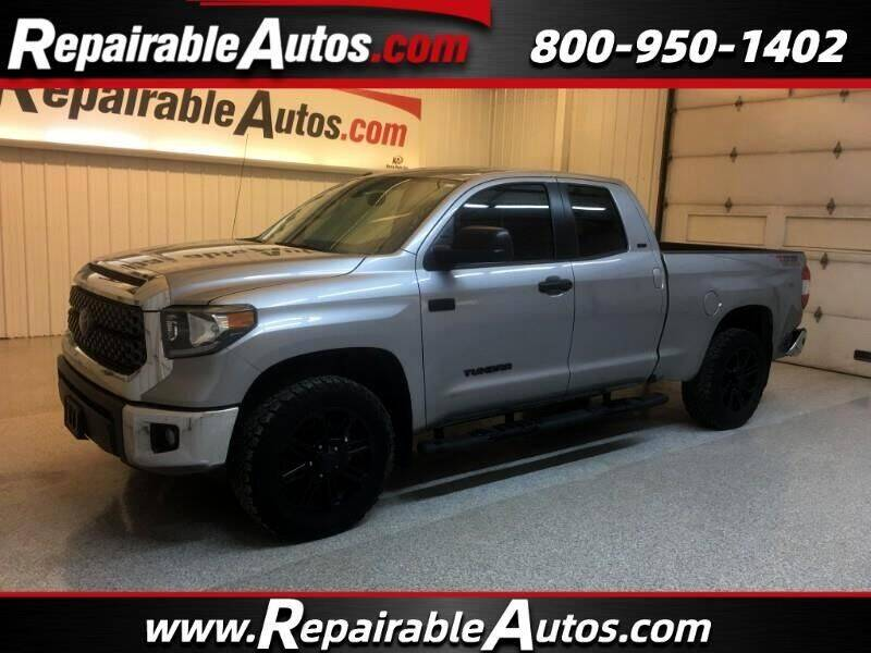 2018 Toyota Tundra for sale at Ken's Auto in Strasburg ND