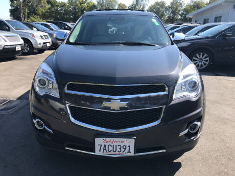 2013 Chevrolet Equinox for sale at EXPRESS CREDIT MOTORS in San Jose CA