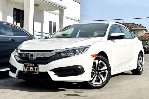 2018 Honda Civic for sale at Fastrack Auto Inc in Rosemead CA