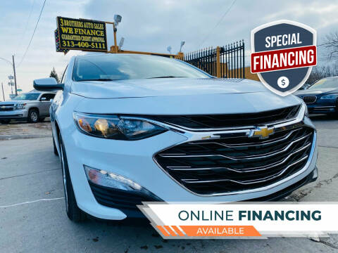 2019 Chevrolet Malibu for sale at 3 Brothers Auto Sales Inc in Detroit MI