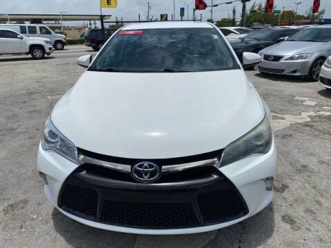 2016 Toyota Camry for sale at America Auto Wholesale Inc in Miami FL