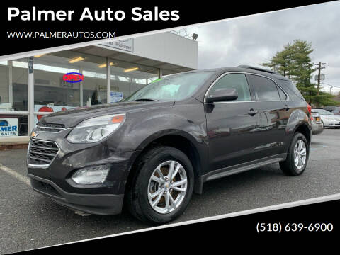 2016 Chevrolet Equinox for sale at Palmer Auto Sales in Menands NY