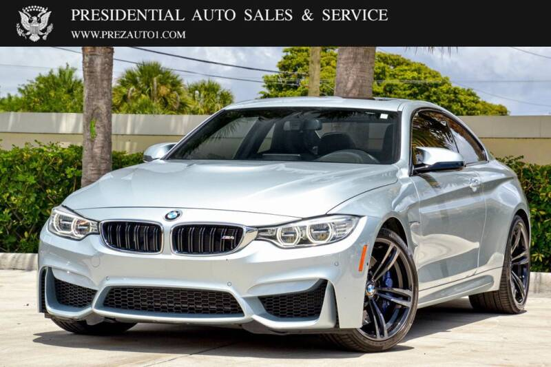 2016 BMW M4 for sale in Delray Beach, FL