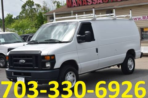 2014 Ford E-Series Cargo for sale at MANASSAS AUTO TRUCK in Manassas VA