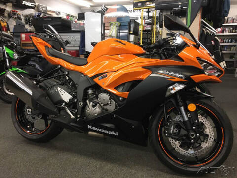 2020 Kawasaki NINJA ZX6R ABS for sale at ROUTE 3A MOTORS INC in North Chelmsford MA