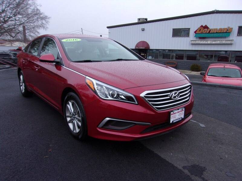2016 Hyundai Sonata for sale at Dorman's Auto Center inc. in Pawtucket RI