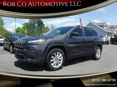2017 Jeep Cherokee for sale at Rob Co Automotive LLC in Springfield TN