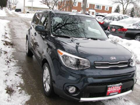 2017 Kia Soul for sale at CLASSIC MOTOR CARS in West Allis WI