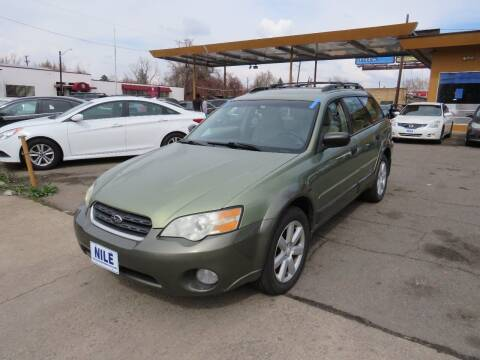 2007 Subaru Outback for sale at Nile Auto Sales in Denver CO