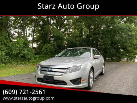 2011 Ford Fusion for sale at Starz Auto Group in Delran NJ