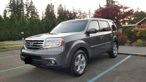2013 Honda Pilot for sale at Washington Auto Loan House in Seattle WA