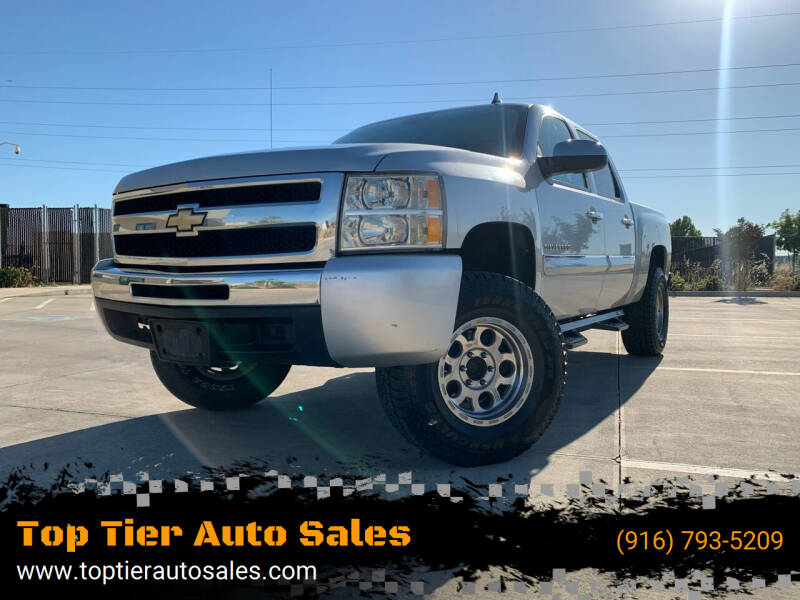 2010 Chevrolet Silverado 1500 for sale at Top Tier Auto Sales in Sacramento CA