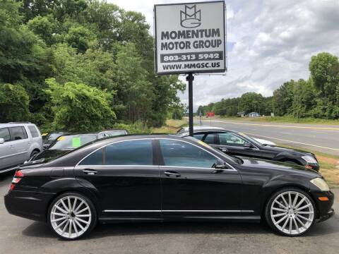 2007 Mercedes-Benz S-Class for sale at Momentum Motor Group in Lancaster SC