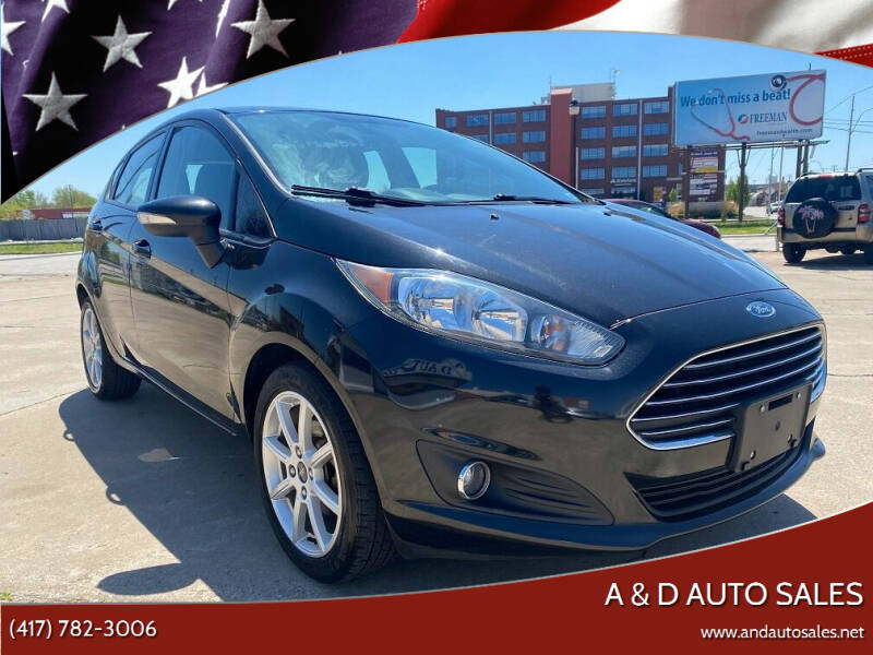 2014 Ford Fiesta for sale at A & D Auto Sales in Joplin MO