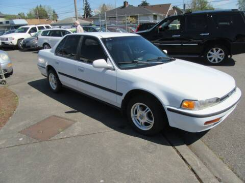 1993 Honda Accord for sale at Car Link Auto Sales LLC in Marysville WA