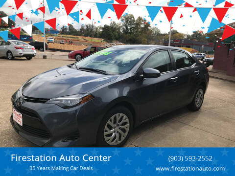 2019 Toyota Corolla for sale at Firestation Auto Center in Tyler TX