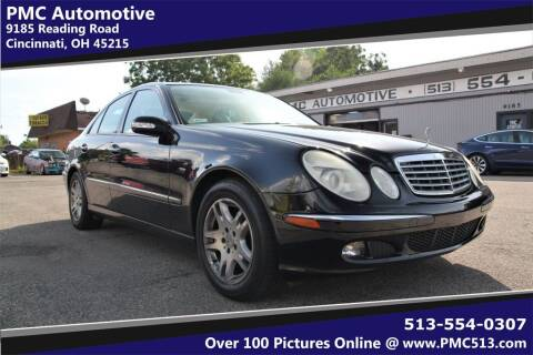 2005 Mercedes-Benz E-Class for sale at PMC Automotive in Cincinnati OH