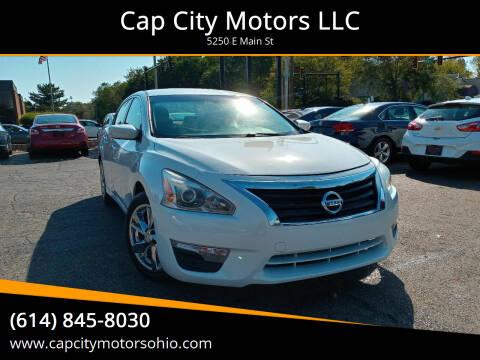 2014 Nissan Altima for sale at Cap City Motors LLC in Columbus OH