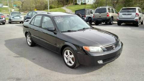 2002 Mazda Protege for sale at DISCOUNT AUTO SALES in Johnson City TN