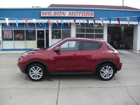2015 Nissan JUKE for sale at Wilson Motors in Junction City KS