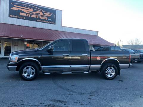 2006 Dodge Ram Pickup 2500 for sale at Ridley Auto Sales, Inc. in White Pine TN