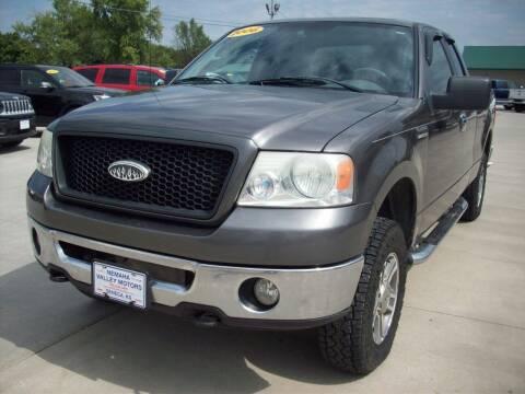 2006 Ford F-150 for sale at Nemaha Valley Motors in Seneca KS