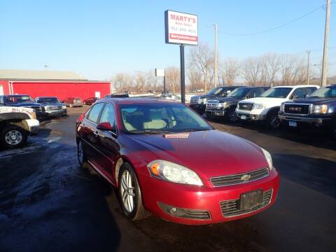 2009 Chevrolet Impala for sale at Marty's Auto Sales in Savage MN