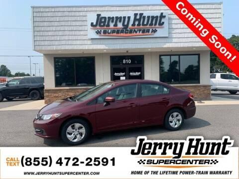 2015 Honda Civic for sale at Jerry Hunt Supercenter in Lexington NC