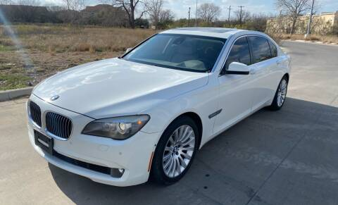 2009 BMW 7 Series for sale at GTC Motors in San Antonio TX