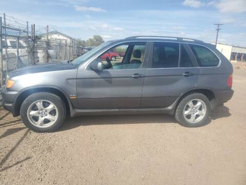 2002 BMW X5 for sale at PYRAMID MOTORS - Fountain Lot in Fountain CO