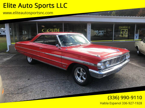 1964 Ford Galaxie 500 for sale at Elite Auto Sports LLC in Wilkesboro NC