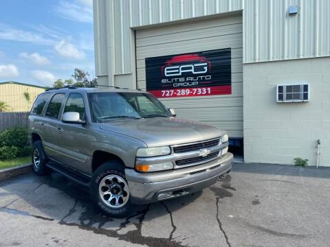 2003 Chevrolet Tahoe for sale at Elite Auto Group LLC in Pinellas Park FL