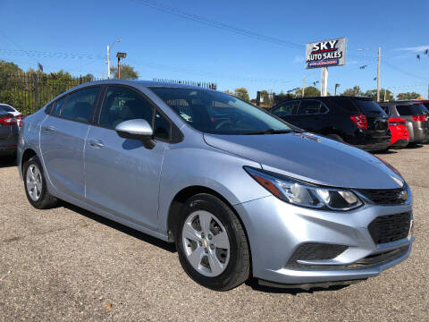 2018 Chevrolet Cruze for sale at SKY AUTO SALES in Detroit MI