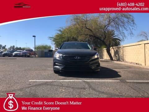 2015 Hyundai Sonata for sale at UR APPROVED AUTO SALES LLC in Tempe AZ