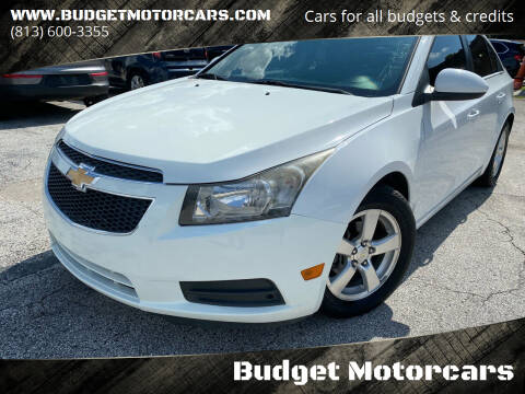 2014 Chevrolet Cruze for sale at Budget Motorcars in Tampa FL