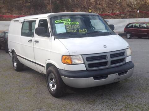 2002 Dodge Ram Cargo for sale at GIB'S AUTO SALES in Tahlequah OK